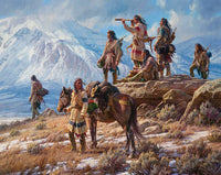 Apsaalooke Foot Soldiers by Martin Grelle