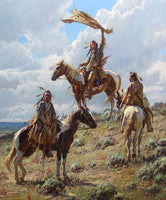 Apsaalooke Signal Maker – Art Prints by Martin Grelle