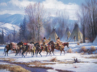 Camp Meat and Mules by Martin Grelle