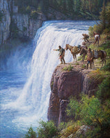 Offerings to the Spirit in the Falls by Martin Grelle