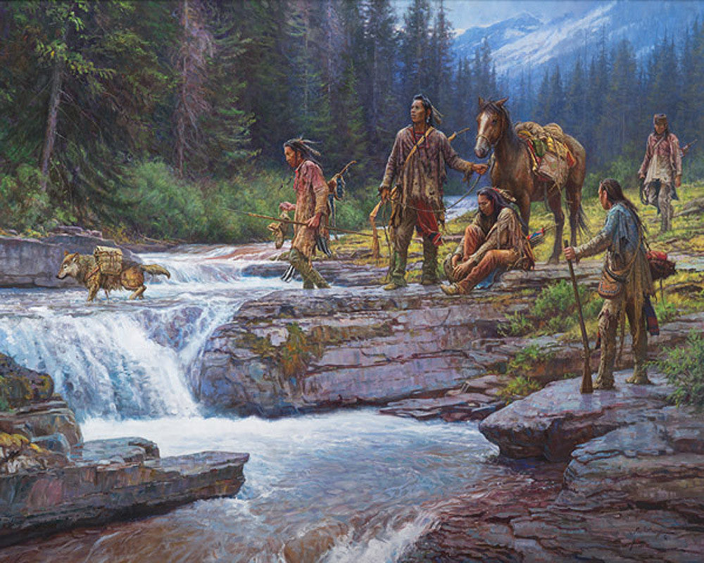 Passage at Falling Waters by Martin Grelle