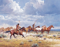 Running with the Elk-Dogs by Martin Grelle