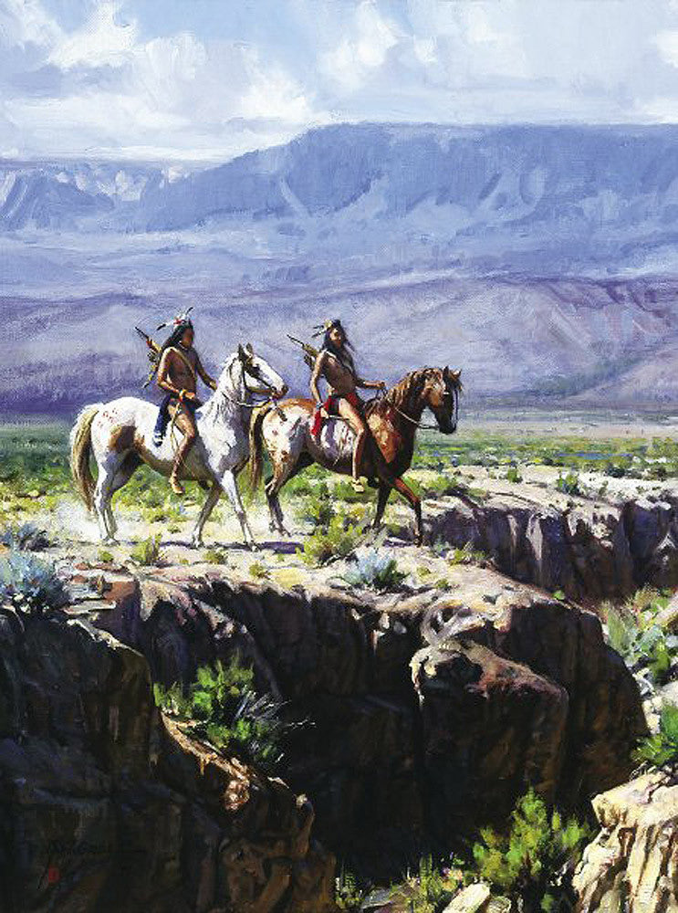 Scouts in Rough Country by Martin Grelle