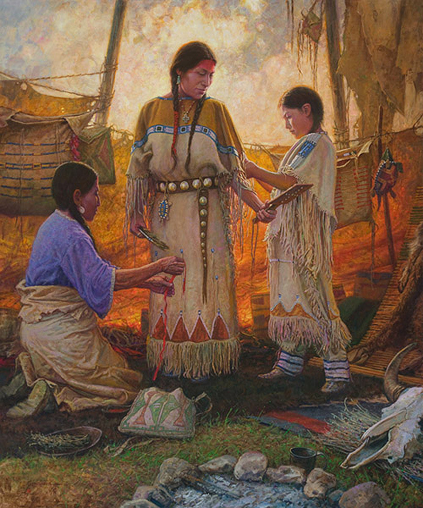 Wedding Preparations by Martin Grelle