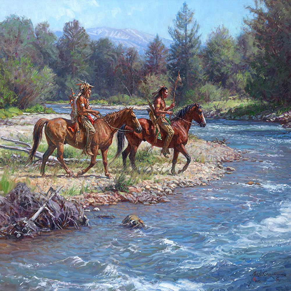 Wolves on Rock Creek by Martin Grelle