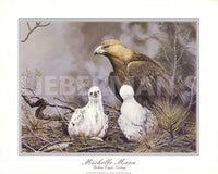 Golden Eagle Nesting Art Prints by Michelle Mara
