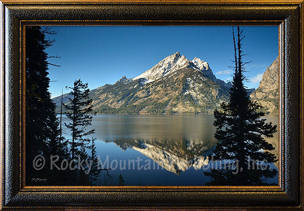 A Grand View – Framed Giclee Canvas by Mitchell Mansanarez