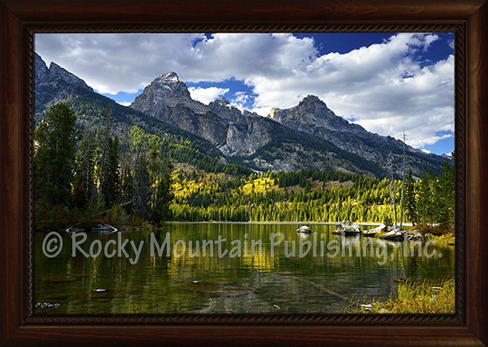 Calm Waters – framed Giclee Canvas by Mitchell Mansanarez