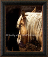Golden Shadows Custom Framed Art Prints by Mitchell Mansanarez