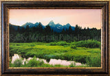 Grand Meadows – Framed Giclee Canvas by Mitchell Mansanarez
