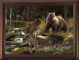 In the Land of Giants – Framed Giclee Canvas Art Prints by Dallen Lambson