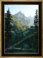 Lakes View – Framed Giclee Canvas by Mitchell Mansanarez
