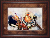 Lariat and Latigo – Framed Art Prints by Mitchell Mansanarez