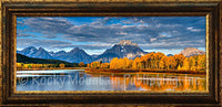 Oxbow Bend 2 – Framed Giclee Canvas by Mitchell Mansanarez