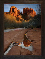 Reflections – Framed Giclee Canvas by Mitchell Mansanarez