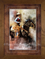 Riding in Color – Framed Art Prints by Mitchell Mansanarez