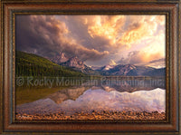 Stanley Lake - Framed Giclee Art by Mitchell Mansanarez