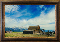 Wild Blue Yonder – Framed Giclee Canvas by Mitchell Mansanarez