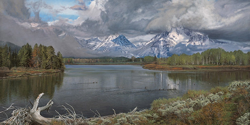 Driftwood - The Oxbow Bend by Phillip Philbeck