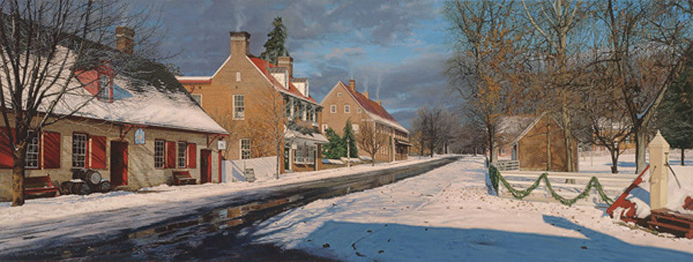 Main Street in Old Salem by Phillip Philbeck