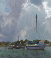 Silver Lake Harbor Art Prints by Phillip Philbeck Artist