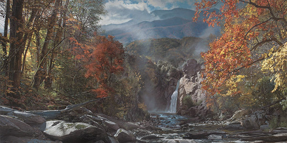Smoky Mountain Grandeur - Mt. LeConte by Phillip Philbeck