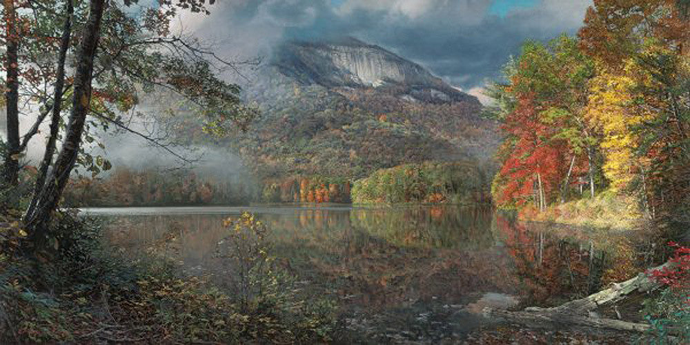 Table Rock in Autumn by Phillip Philbeck