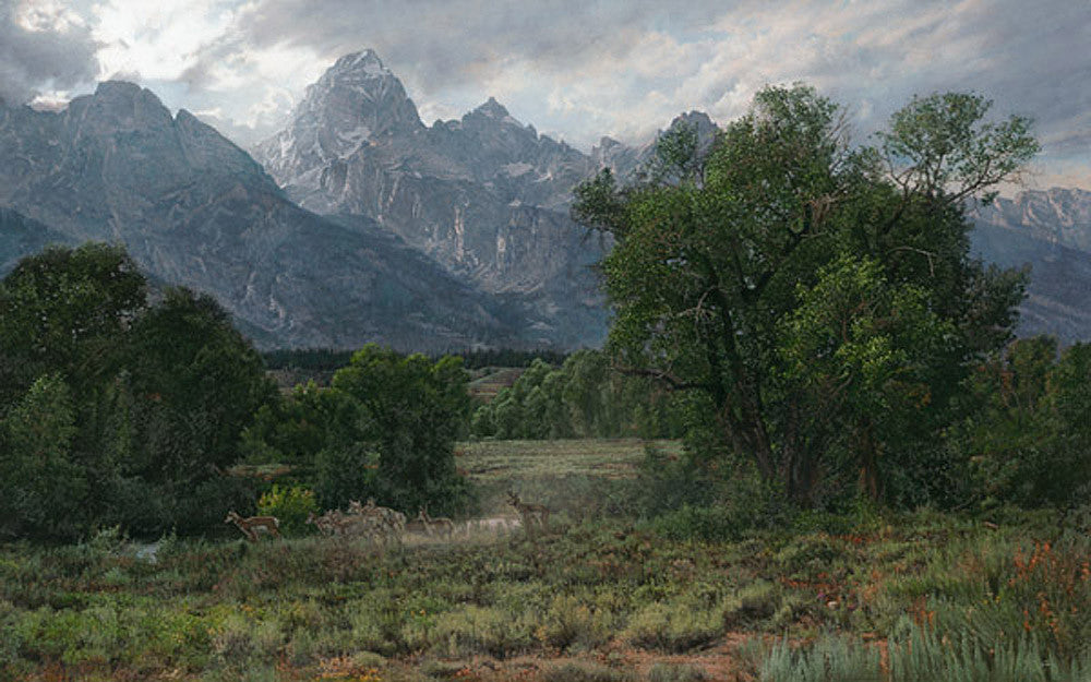 Twightlight in the Tetons by Phillip Philbeck
