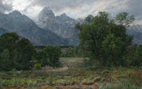 Twilight in the Tetons by Phillip Philbeck