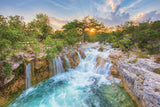 Hill Country Waterfall 1 by Rob Greebon