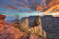 Lost Mine Trail Sunset 1 by Rob Greebon