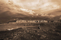 Arizona Morning - Sepia by Robert Dawson