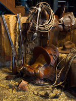 Ranchers Tack Room by Robert Dawson