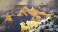 March Yavapai Point by Robert Peters