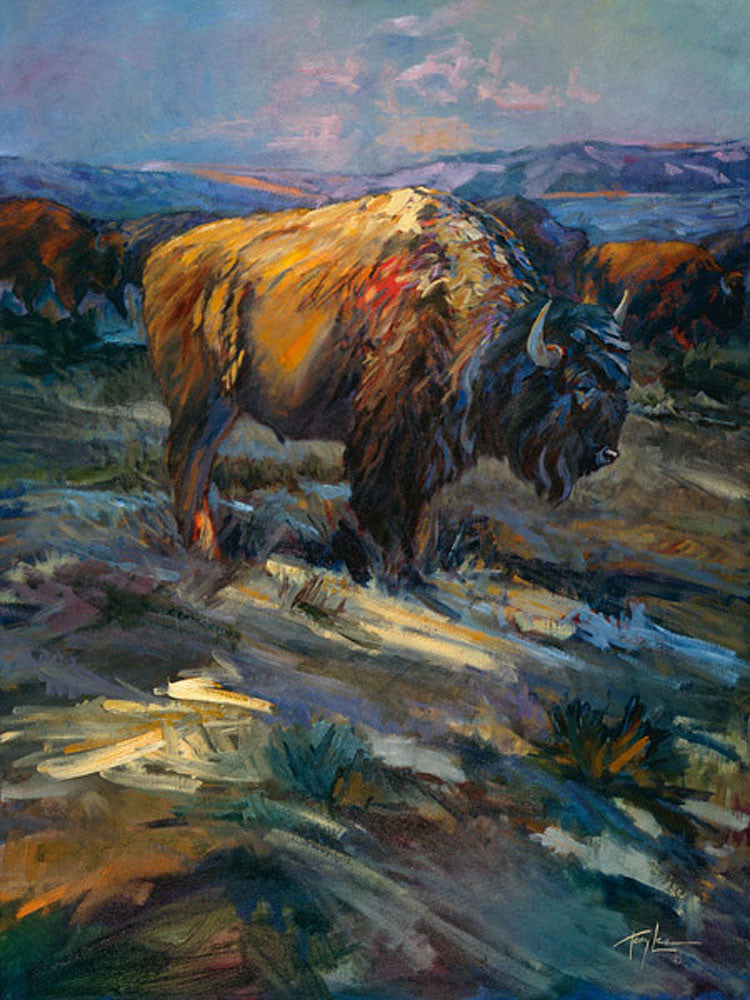 High Plains Bison by Terry Lee