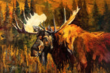 Moose by Terry Lee