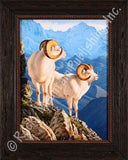 Alaskan Gold – Framed Giclee Canvas by Tom Mansanarez