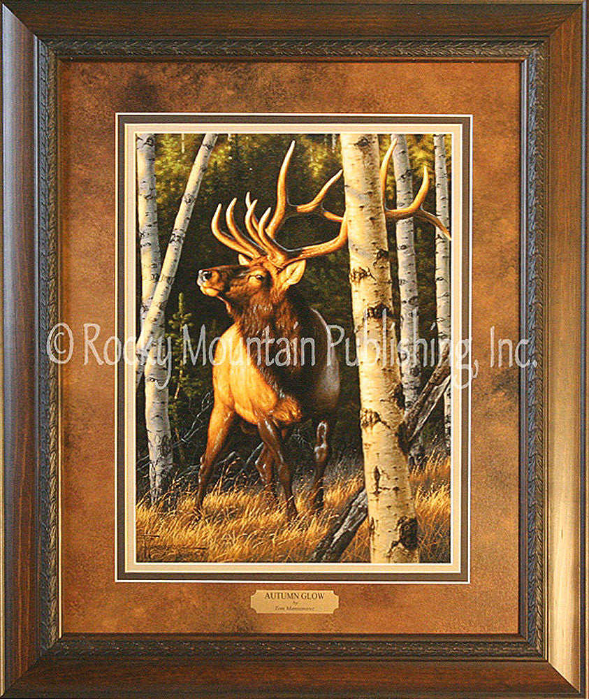 Autumn Glow – Framed Print by Tom Mansanarez