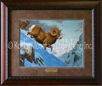 Breaking Trail – Framed Print by Tom Mansanarez
