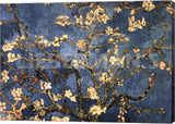 Vincent Van Gogh Blossoming Almond Tree Canvas Wrapped Art Print