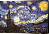 Vincent Van Gogh Starry Night 1889 Canvas Wrapped Art Print