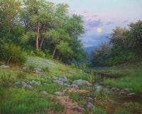 Spring Moon Art Prints by William Hagerman Artist