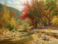 Sunny Autumn Art Prints by William Hagerman Artist