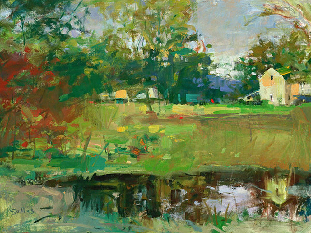 Town Creek Pond by William Suttles