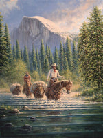 A Cowboys Time to Reflect Art Prints by Jack Terry