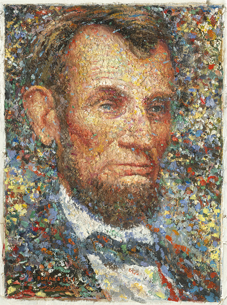 Abraham Lincoln Portrait art prints by Larry Dyke