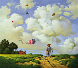 Another Hard Day at the Office Art Prints By Charles Wysocki Artist