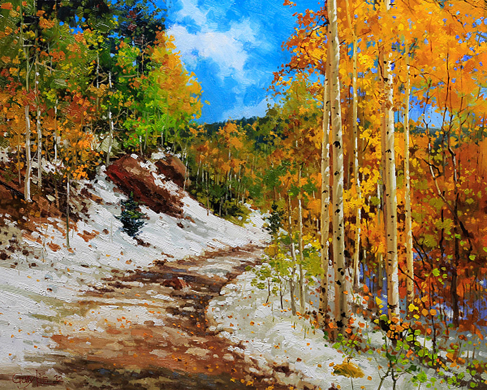 Aspen Vista Santa Fe Art Prints by Gary Kim