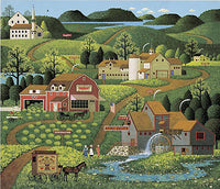 Burma Road Art Prints By Charles Wysocki Artist