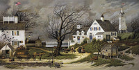 Checking in on Olde Marthas Vineyard Art Prints By Charles Wysocki Artist